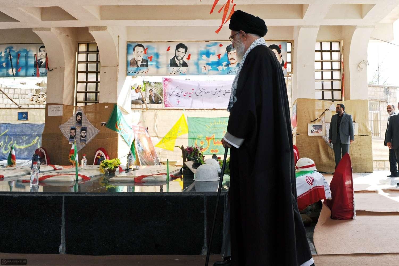 حضور مقام معظم رهبری مدظله العالی