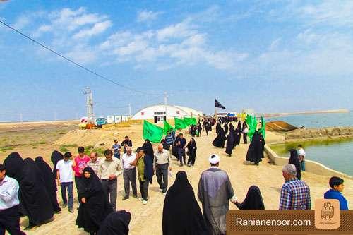 n00004736 r b 000 یادمان شهدای هور ، مقتل شهید علی هاشمی ، جزیره مجنون
