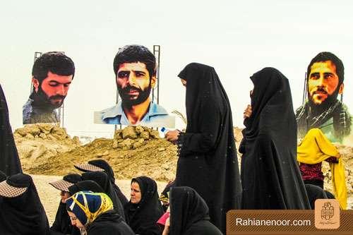 n00004736 r b 003 یادمان شهدای هور ، مقتل شهید علی هاشمی ، جزیره مجنون