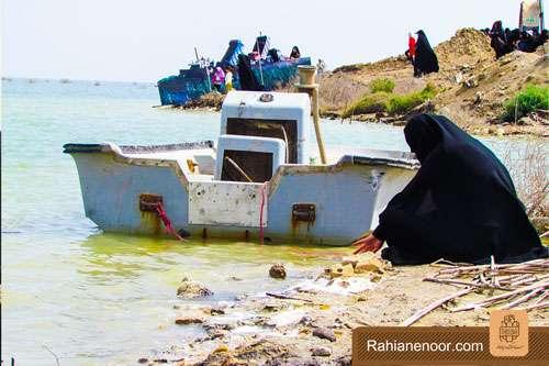 n00004736 r b 004 یادمان شهدای هور ، مقتل شهید علی هاشمی ، جزیره مجنون