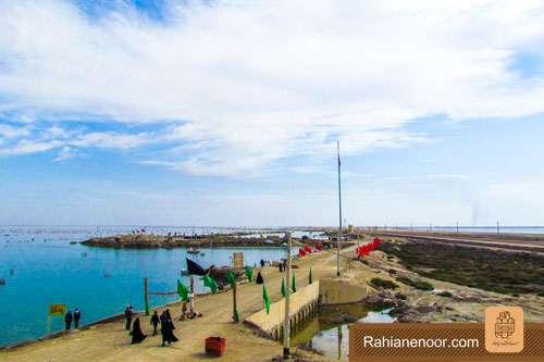 n00004736 r b 005 یادمان شهدای هور ، مقتل شهید علی هاشمی ، جزیره مجنون