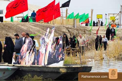 n00004736 r b 007 یادمان شهدای هور ، مقتل شهید علی هاشمی ، جزیره مجنون
